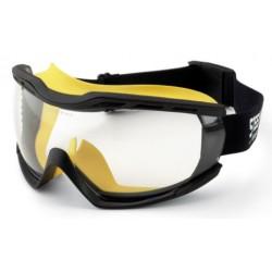 Gafa Integral panorámica 180° con tecnología balística, ocular claro antiempañante para riesgos mecánicos y radiaciones UV