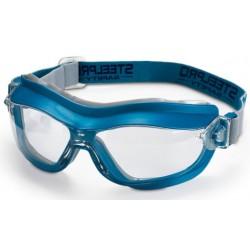 Gafa Integral ocular claro antiempañante para riesgos mecánicos. Color Azul