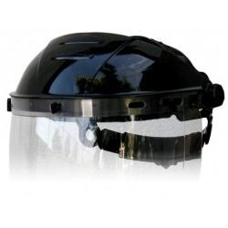 """Soporte para visor ajustable a cabeza, muy ligero y seguro con ajuste tipo """"roller"""" para un fácil y cómodo ajuste."""
