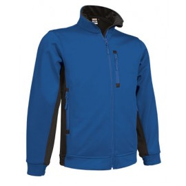 CHAQUETA SOFTSHELL TRANSPIRABLE MODELO PEAK