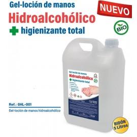 GEL DE MANOS HIDROALCOHOLICO E HIGIENIZANTE MOD GHL001